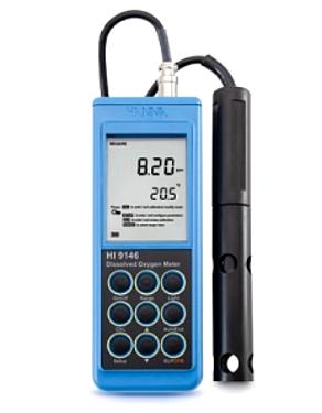 HI 9146-04 Оксиметр (кислородомер) влагонепроницаемый портативный, кабель 4м