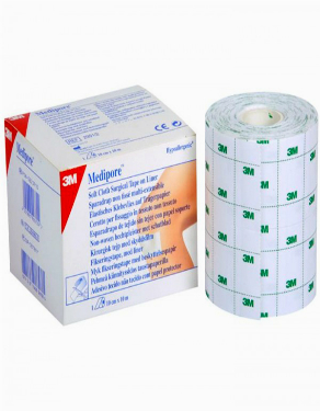 Медипор 3М (Medipore) хирургический пластырь на нетканной основе с лайнером 15смх10м