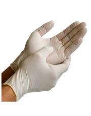 Перчатки латексные смотровые неопудренные (2)